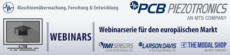 PCB Webinarserie für den eurpäischen Markt